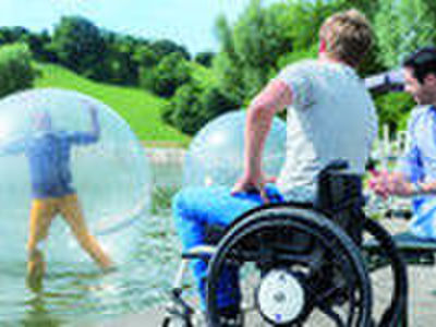 Rollstuhl, angepasst an die individuellen Bedürfnisse