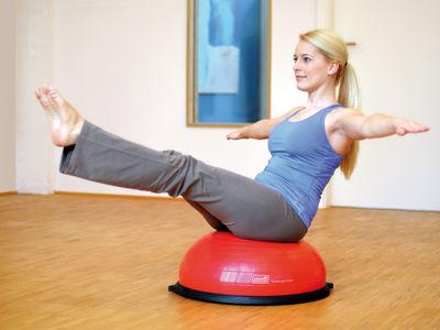 Balance-Kissen zur Stärkung der Muskulatur und des Gleichgewichtssinn